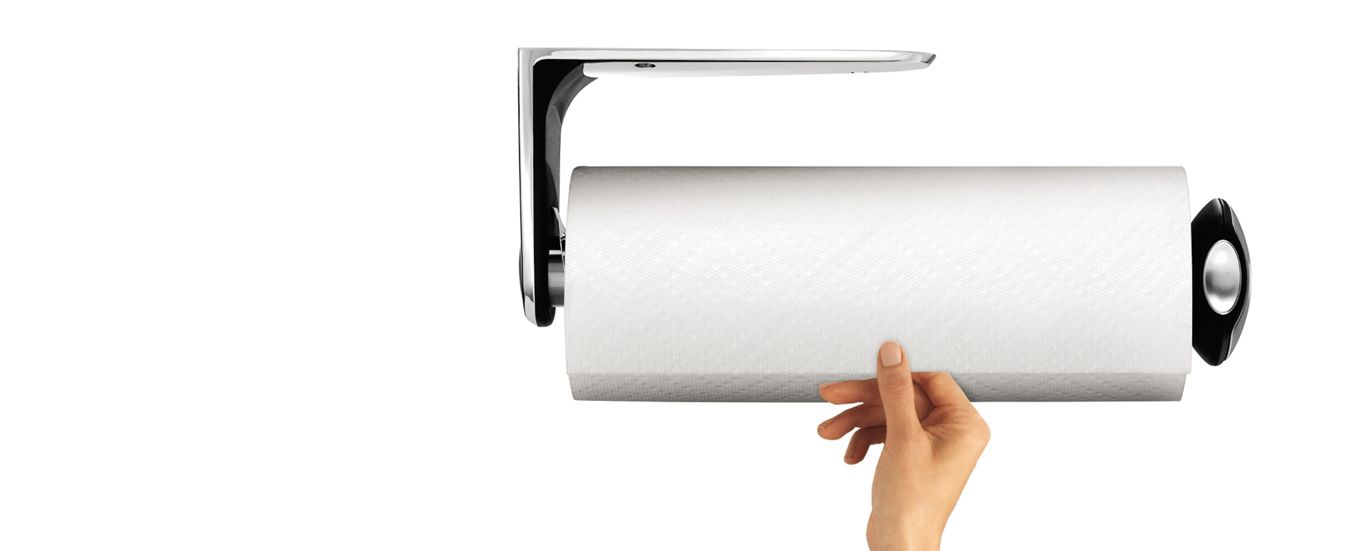 Compaper towel holder bathroom crowdbuild for for Bathroom napkin holder