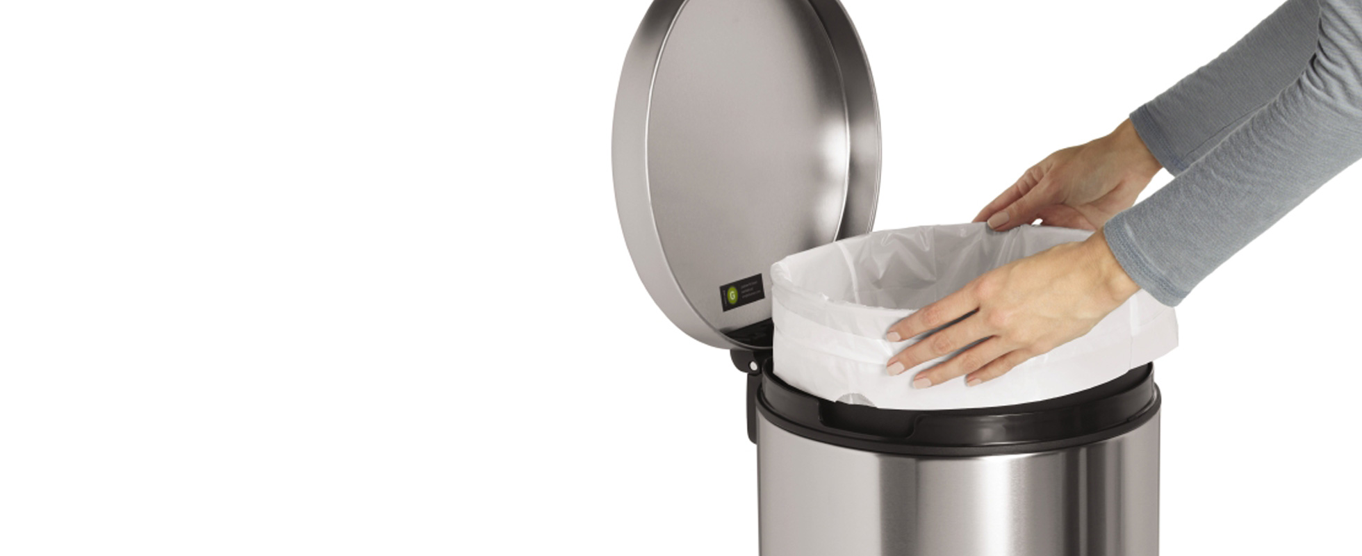 Buy Bathroom Trash Cans from Bed Bath amp Beyond