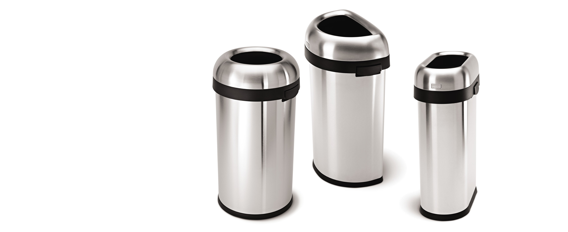 Simplehuman commercial trash cans industrial garbage cans - Commercial bathroom waste receptacles ...