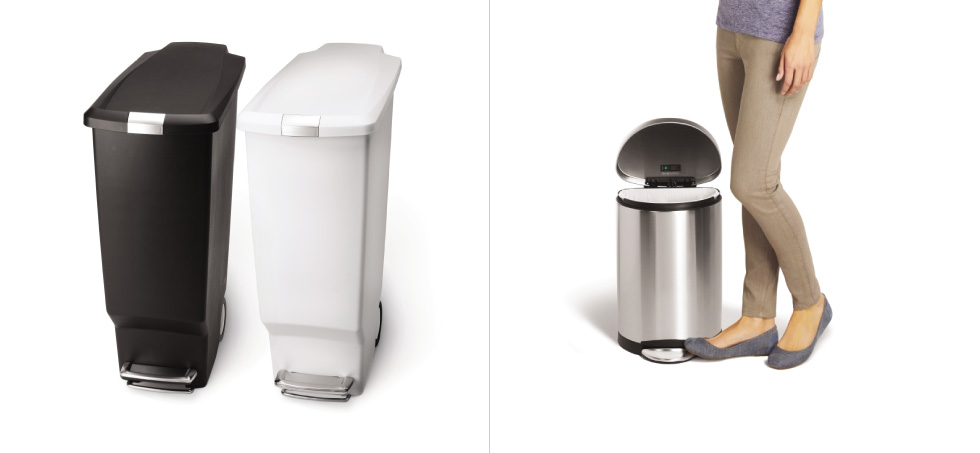 12345. simplehuman   Step Cans