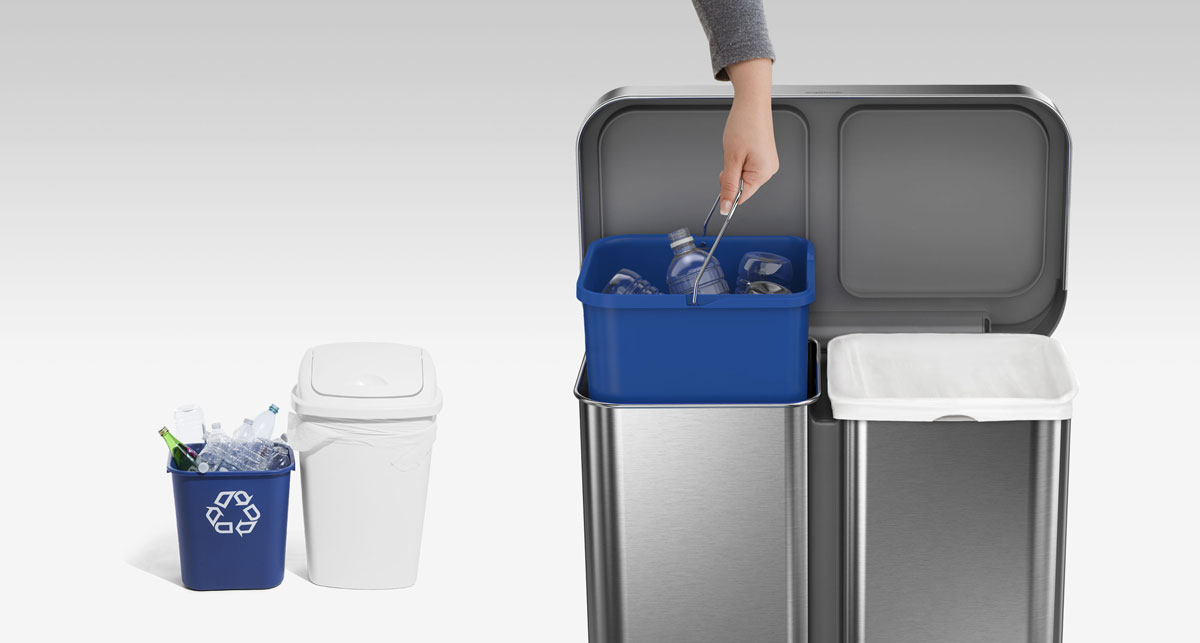 an elegant recycling solution