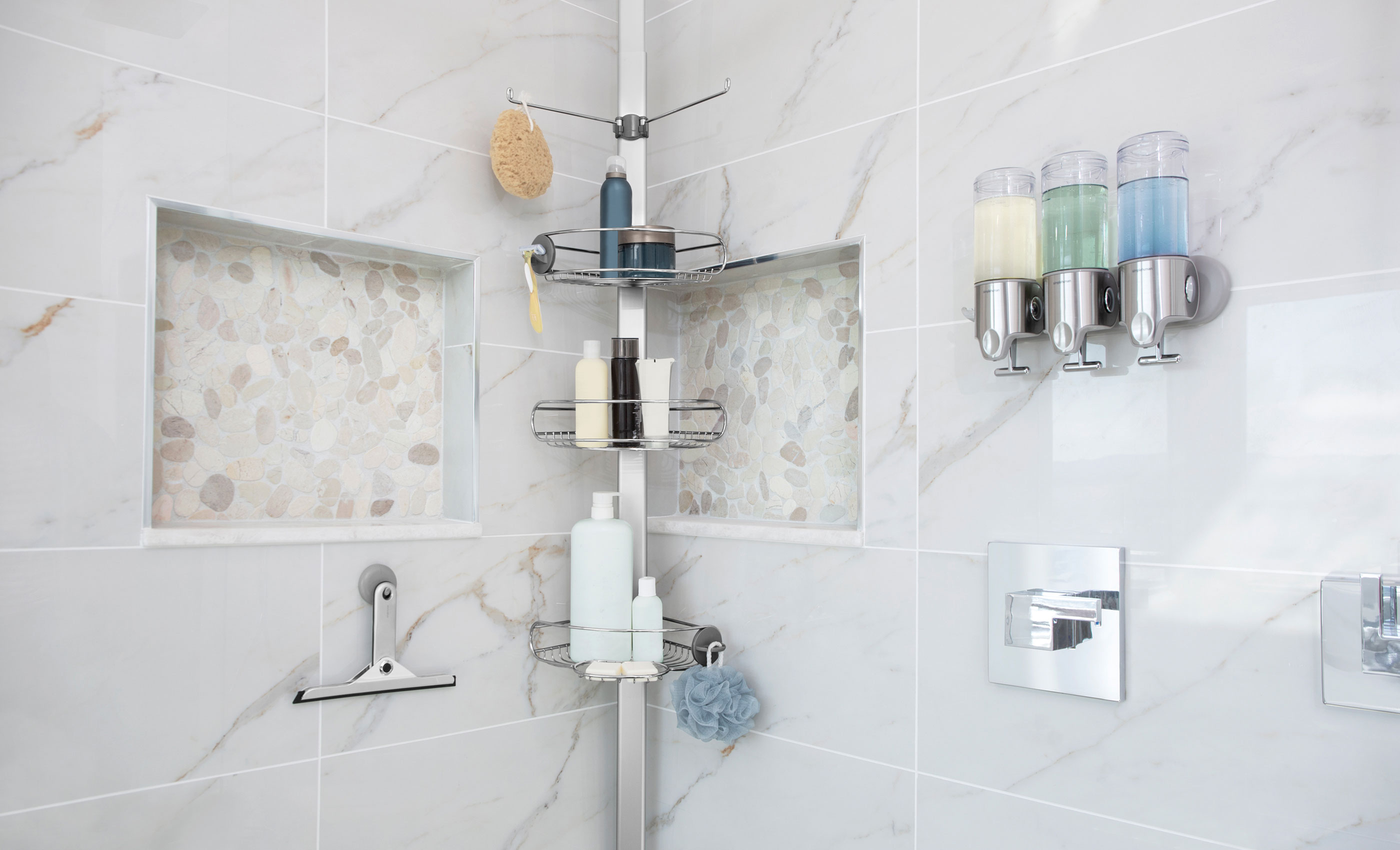 declutter your shower